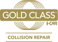 I-Car Gold Class Certified Collision Repair