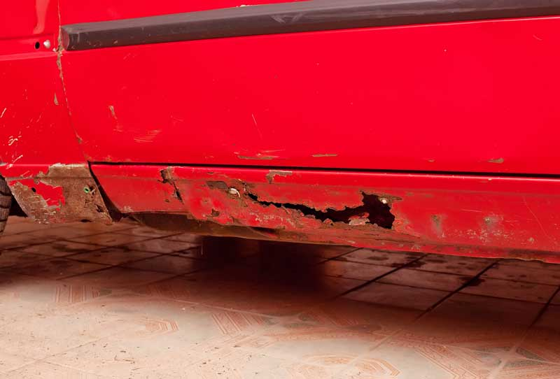 Best Way To Remove Rust From Car Underbody