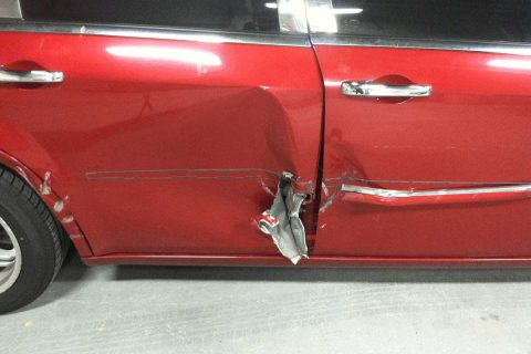Car Door Damage Repair