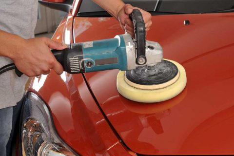 Buffing Car Paint